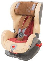 Детско столче за кола - Glider Royal Isofix: Beige -