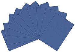 Полупрозрачна хартия - Синя
