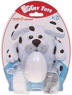 """Забавна глина за моделиране - Кученце - Творчески комплект от серията """"Eggly toys"""" -"""