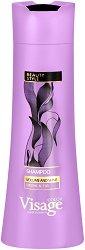 Visage Hair Fashion Volume And Shine Shampoo - Шампоан за обем и блясък със смокиня и личи - маска
