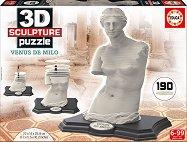Скулптура на Венера Милоска - 3D пъзел - пъзел