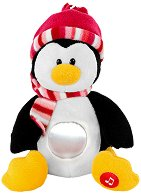 Детска музикална LED лампа - Пингвинчето Паула -
