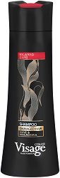Visage Hair Fashion Damaged Hair Olive & Macadamia Shampoo - Шампоан за изтощена коса с маслина и макадамия - лак