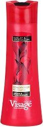 Visage Hair Fashion Argan & Pomegranate Conditioner - Балсам за боядисана коса с арганово масло и нар - продукт