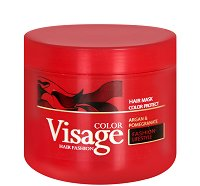 Visage Hair Fashion Color Protect Argan & Pomegranate Mask - Маска за боядисана коса с арганово масло и нар - балсам