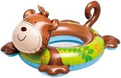 Надуваем детски пояс - Маймунка - Аксесоар за плуване - играчка