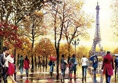 Айфеловата кула, Париж, Франция -