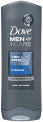Dove Men+Care Cool Fresh Body & Face Wash - дезодорант