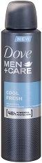 """Dove Men+Care Cool Fresh Anti-Perspirant - Дезодорант против изпотяване за мъже от серията """"Men+Care"""" - душ гел"""