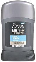 """Dove Men+Care Cool Fresh Anti-Perspirant - Стик дезодорант против изпотяване за мъже от серията """"Men+Care"""" - душ гел"""