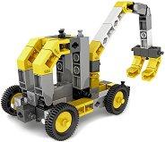 Строителни машини - 8 в 1 - играчка
