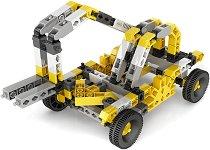 """Строителни машини - 16 в 1 - Детски конструктор от серията """"Inventor"""" -"""