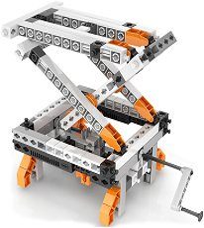 """Механика - Зъбни колела 12 в 1 - Детски конструктор от серията """"Discovering Stem"""" - играчка"""