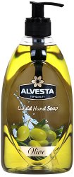 Alvesta Liquid Hand Soap Olive - душ гел