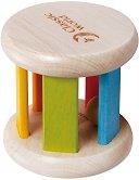 Дървено валяче - играчка