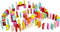Домино с мечета - Дървен комплект за игра -