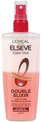 Elseve Color-Vive Double Elixir - Двуфазен спрей за боядисана и изсветлена коса - масло