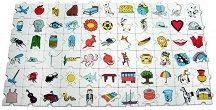 Блокчета с картинки - Детска образователна игра -