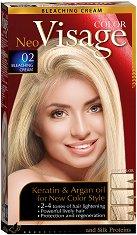 Visage Color Hair Fashion Bleaching Cream 02 - Осветляващ крем за коса -