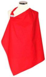 Червен слинг-престилка за кърмене - аксесоар