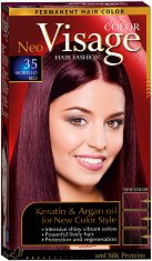 Visage Hair Fashion Permanent Hair Color - Трайна крем боя за коса - гел