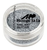 Manhattan Rouge La La Nail Art Glitter - Брокат за маникюр - пила
