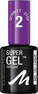 Manhattan Super Gel Top Coat - Топ лак за нокти с гел ефект -