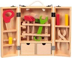 Детски куфар с инструменти - играчка