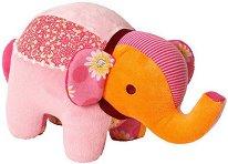 Цветно слонче - Плюшена играчка -
