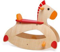 Люлеещо се конче - Детска дървена играчка - играчка