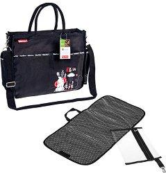 Чанта - Elfin - Аксесоар за детска количка с подложка за преповиване -