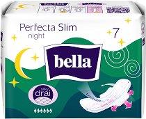 Bella Perfecta Ultra Night - Нощни дамски превръзки с крилца в опаковка от 7 броя - продукт
