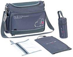 Чанта - Мечо Пух - Аксесоар за детска количка с подложка за преповиване и термобокс - продукт