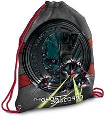 Детски спортен сак с връзки - The Ghost Squadron - играчка