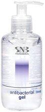 SNB Antibacterial Gel - Дезинфектиращ гел за ръце със 70% спирт - разфасовки от 30 ÷ 500 ml - пила