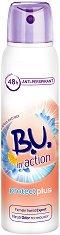 """B.U. in Action Protect Plus Anti-Perspirant - Дезодорант за жени против изпотяване с екстракт от син лотос от серията """"in Action"""" -"""
