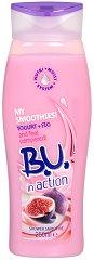 "B.U. in Action Yogurt + Fig Shower Smoothie - Крем душ с йогурт и смокиня от серията ""in Action"" - душ гел"