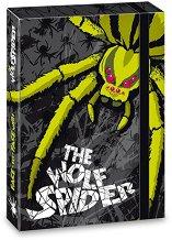 Кутия с ластик - The Wolf Spider - Размери 23 x 33.5 cm