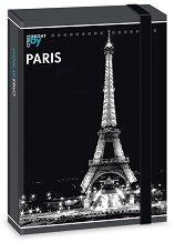 Кутия с ластик - Париж - Размери 23 x 33.5 cm