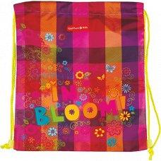 Детски спортен сак с връзки - Bloom - детска бутилка