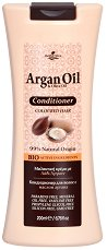 HerbOlive Argan Oil & Olive Oil Conditioner - Балсам за боядисана коса с масла от арган и маслина - шампоан