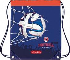Детски спортен сак с връзки - Football - несесер