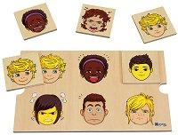 Асоциации - Емоции - Детска образователна мемо игра -