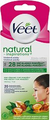 Veet Natural Inspirations Face Wax Strips All Skin Types - продукт