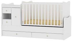 Трансформиращо се детско легло - MiniMax - Цвят бял -