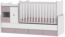 Трансформиращо се детско легло - MiniMax - Цвят бял и капучино - продукт