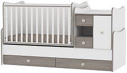 Трансформиращо се детско легло - MiniMax - Цвят бял и кафе -