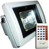 LED прожектор с радио управление - 10 W RGB