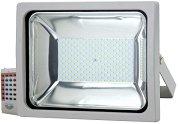 LED прожектор с RF дистанционно - 50 W RGB
