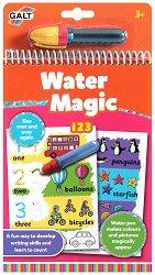Оцветявай с вода - Цифри - Творчески комплект с магически маркер - творчески комплект